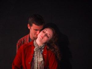 Andrew Cronacher and Addie Horan in THE GARDEN by Peter Gunter