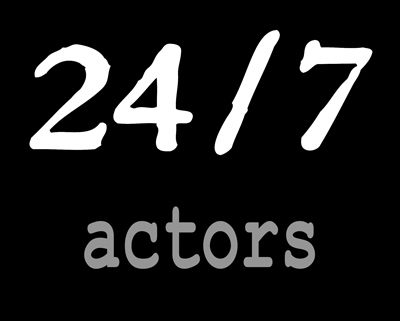 24-7 actors for 2012, Jan., 28th at Live arts