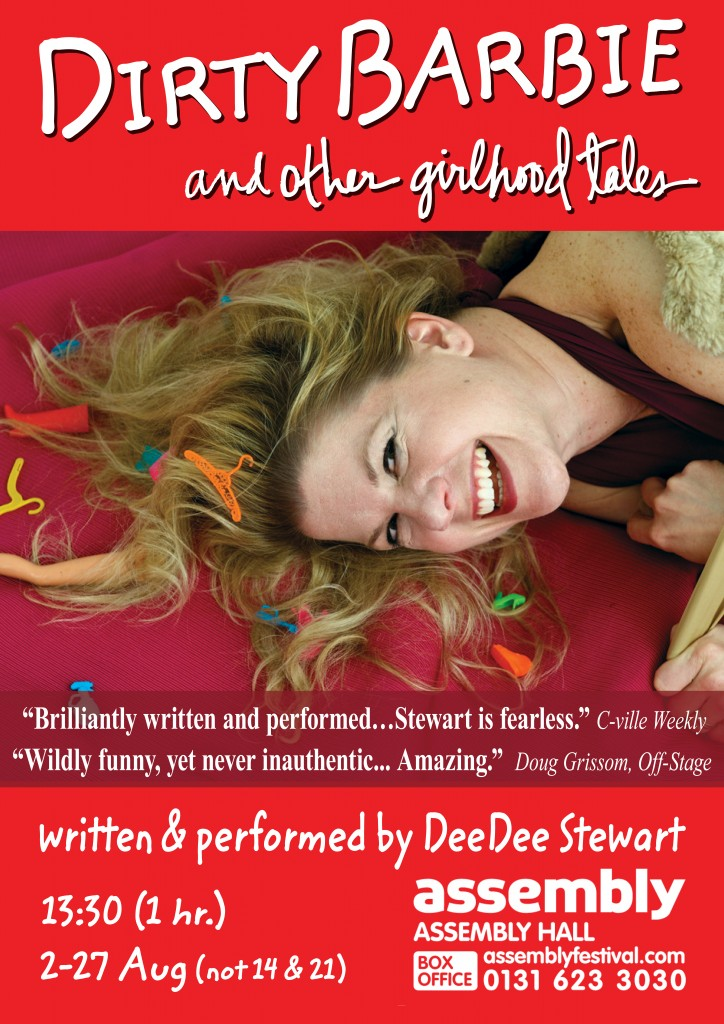 Dirty Barbie Fringe Poster Artwork