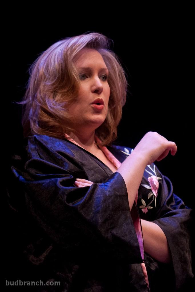 Dannika in The Body. photo by bud branch