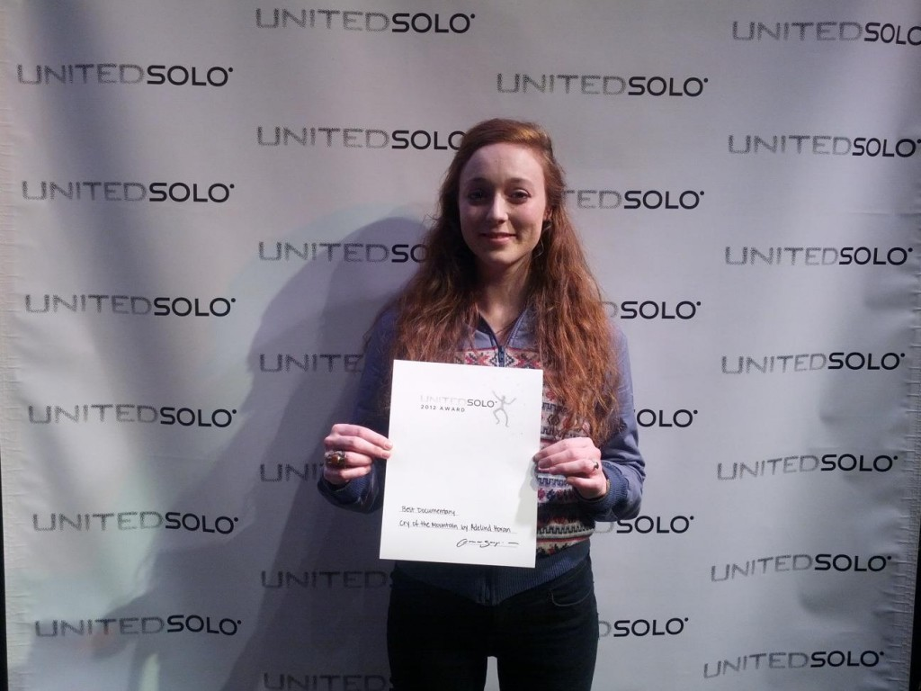 United Solo Addie Wins Best Documentary