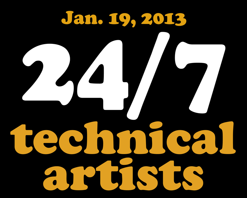 24-7 technical artists - the crew
