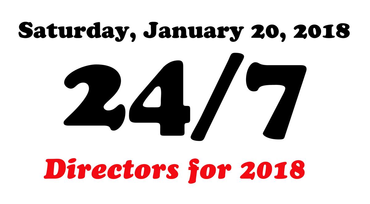 directors for 24/7 2018